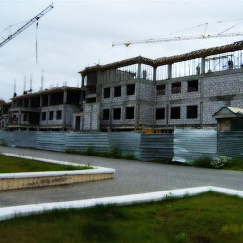 Rusya Salekhard Okul İnşaatı